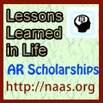Lessons Learned in Life Scholarships for Arkansas students