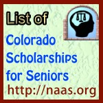 Colorado High-School Senior Scholarships