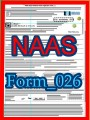 Title: NAAS  Collegiate Award Nominator form; Author: National Academy of American Scholars