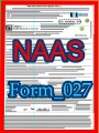 Title: NAAS eMicro Gold Donation Nomination form; Author: National Academy of American Scholars