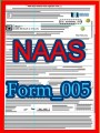 Title: NAAS Platinum Award Nomination form; Author: National Academy of American Scholars