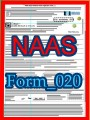 Title: NAAS eMicro Silver Donation Nomination form; Author: National Academy of American Scholars