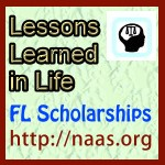 Lessons Learned in Life Scholarships for Florida students