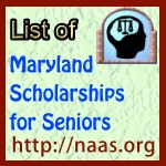 Maryland High-School Senior Scholarships