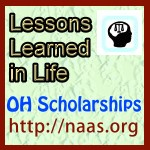 Lessons Learned in Life Scholarships for Ohio students
