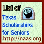 Texas High-School Senior Scholarships