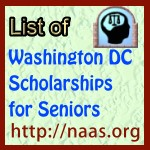 Washington DC High-School Senior Scholarships