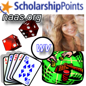 West Virginia Scholarship Points