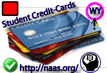 Wyoming Student Credit Cards
